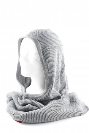 Topshop Tube Scarf grey casual look