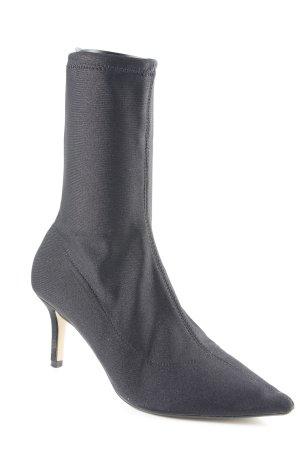 Topshop Schlüpf-Stiefeletten schwarz Elegant