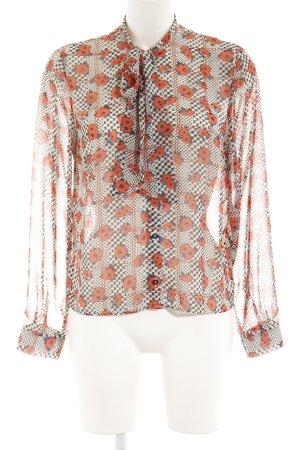 Topshop Blusa con lazo estampado floral estilo «business»