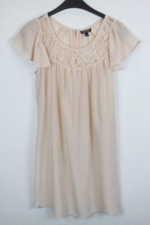 Topshop Hippie Dress cream silk