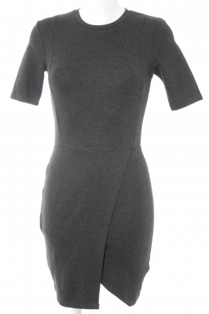 Topshop Shirtkleid anthrazit meliert Casual-Look