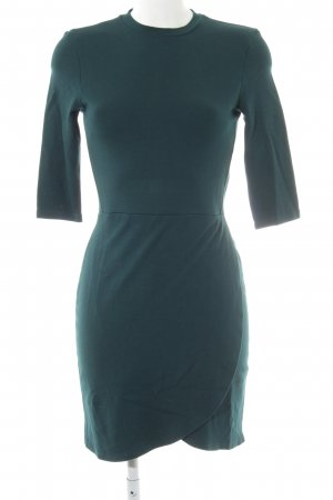 Topshop Shirtkleid petrol Casual-Look