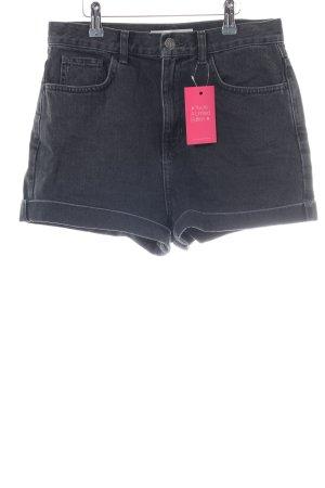 Topshop Shorts schwarz Casual-Look