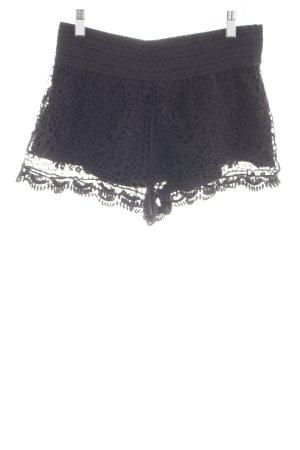 Topshop Shorts schwarz Elegant