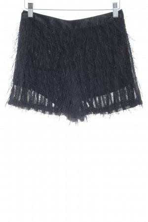 Topshop Shorts schwarz Street-Fashion-Look