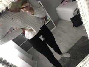 Topshop Pantalone a vita alta nero