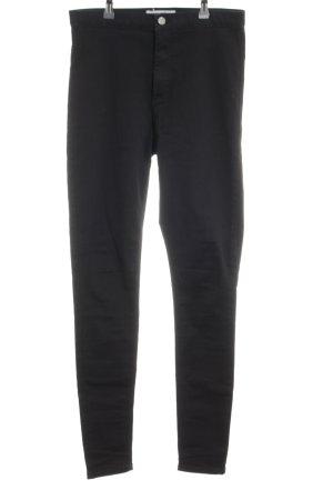 Topshop Skinny Jeans schwarz klassischer Stil