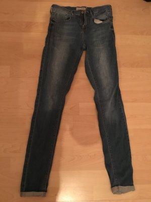 Topshop Jeans blu scuro-azzurro