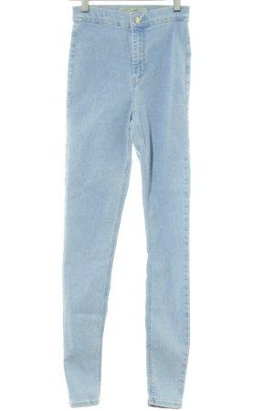 Topshop Skinny Jeans himmelblau Casual-Look