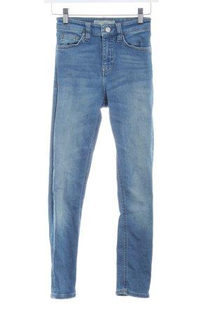 """Topshop Skinny Jeans """"Jamie"""" blau"""