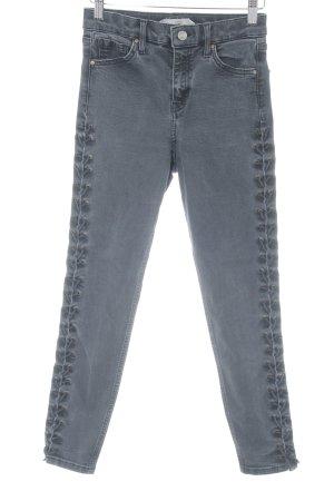 """Topshop Skinny Jeans """"Jamie"""" dunkelgrau"""