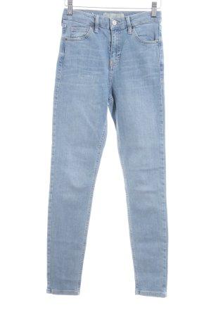"""Topshop Skinny Jeans """"Jamie"""" himmelblau"""