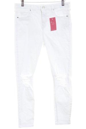 "Topshop Jeans skinny ""Jamie"" bianco sporco"