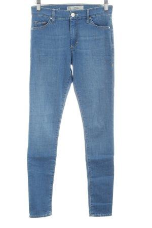 Topshop Skinny Jeans kornblumenblau Casual-Look