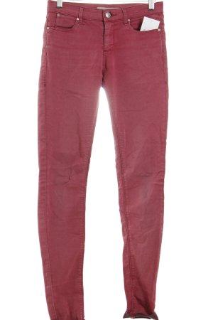 Topshop Skinny Jeans ziegelrot