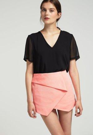 Topshop Skort Shorts 42 40 Flamingofarben Hotpants NEU!