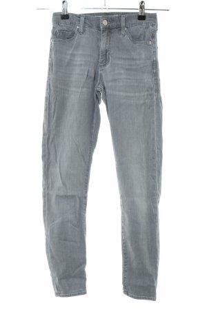Topshop Jeans slim gris clair style décontracté