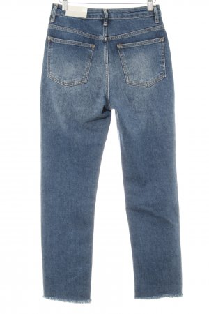 Topshop Jeans slim bleu style décontracté