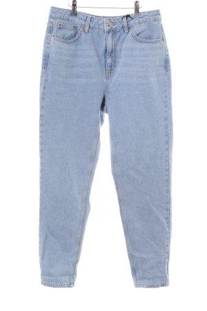 Topshop Slim Jeans himmelblau Casual-Look
