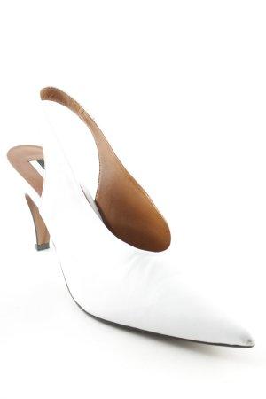 Topshop Slingback-Pumps weiß Elegant