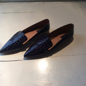 Topshop Slipper marineblau Gr. 38