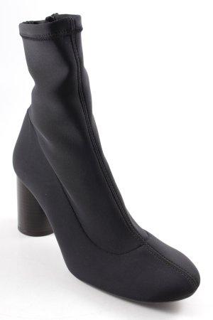 Topshop Slouch Stiefeletten schwarz Street-Fashion-Look