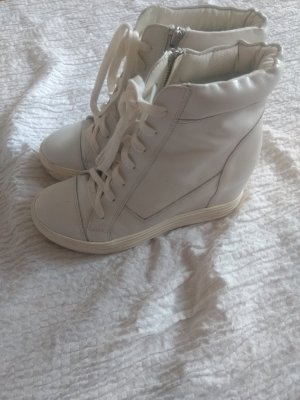 Topshop Sneaker Plateau Stiefel weiß Gr.40