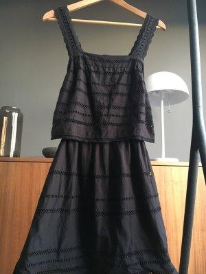 Topshop Sommer Kleid dress Black Hippie Größe S