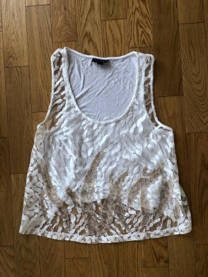Topshop A Line Top white