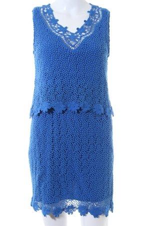 Topshop Spitzenkleid blau Elegant
