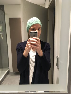 Topshop Knitted Hat turquoise-mint
