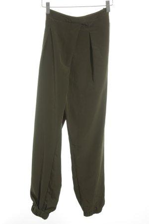 Topshop Pantalon en jersey kaki style athlétique