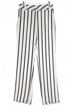 Topshop Jersey Pants black-white striped pattern street-fashion look