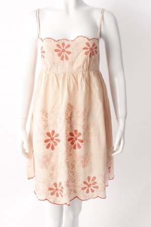 Topshop beach dress nudefarben