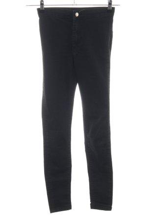 Topshop Jeans elasticizzati nero stile casual