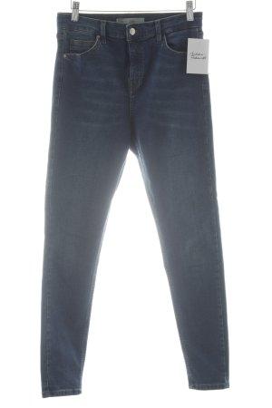 Topshop Stretch Jeans blau schlichter Stil