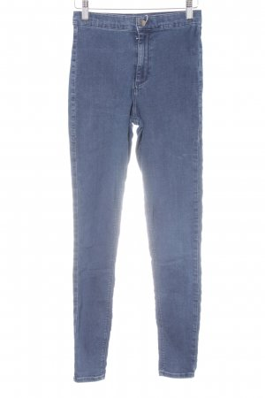 Topshop Stretch Jeans dunkelblau Jeans-Optik