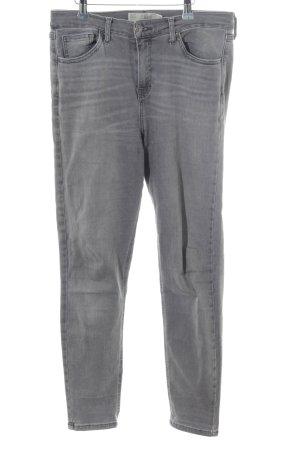Topshop Stretch jeans lichtgrijs-grijs casual uitstraling