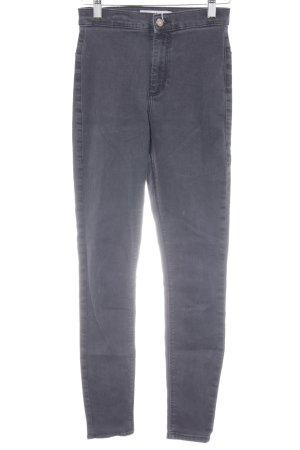Topshop Stretch Jeans schwarz schlichter Stil