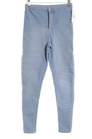 "Topshop Pantalone elasticizzato ""Jony"" azzurro"