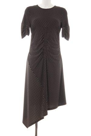 Topshop Robe stretch noir motif de tache style décontracté