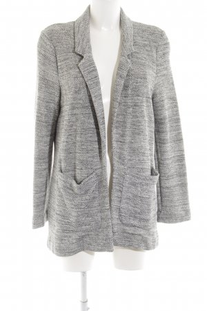 Topshop Knitted Blazer light grey flecked casual look