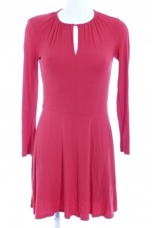 Topshop Strickkleid rot Casual-Look
