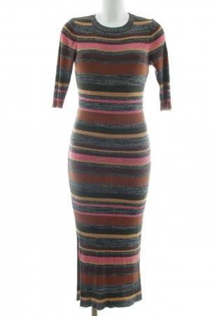 Topshop Strickkleid Streifenmuster Street-Fashion-Look