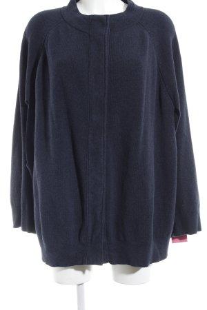 Topshop Strickponcho dunkelblau schlichter Stil