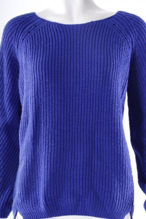 Topshop knit sweater blue