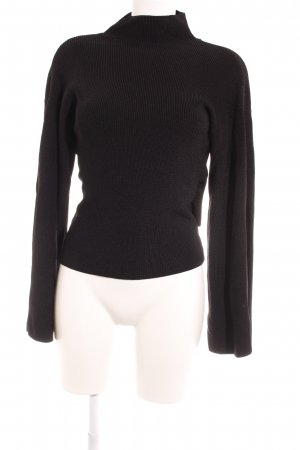 Topshop Knitted Sweater black casual look