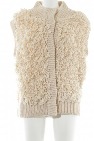 Topshop Knitted Vest nude casual look