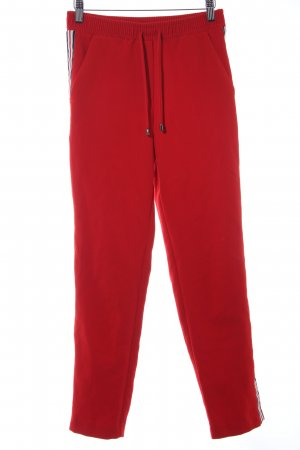 Topshop Sweathose rot Casual-Look
