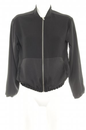 Topshop Giacca fitness nero stile casual